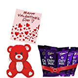 #2: Maalpani Special Valentine's Day Gift Hamper and Combo Offer | Attractive greeting Card | Cute Cuddle Teddy Bear | Pack Of Small Cadbury Dairy Milk Set | Maalpani Special Box | Boyfriend |Girlfriend | Husband | Wife | Loved Ones | Relatives | For Everyone – By MAALPANI STORE (Type-3)