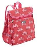 KitchenCraft Coolmovers 'Fahrräder Cool Bag Rucksack, 8Liter (mittel)–Rot/Weiß
