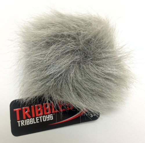 Tribble Toys Star Trek Plush Tribble - Gray Tundra Tribble - Small Size