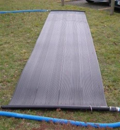Solarmatte 5,00m x 1,20m Fläche 6,0m² Poolheizung Solarheizung Solarabsorber