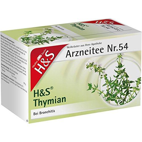 H&S Thymian Arzneitee Nr. 54, 20 St. Filterbeutel