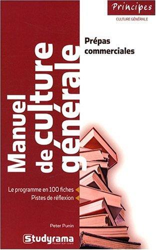 Manuel de culture gnrale - Prpas commerciales