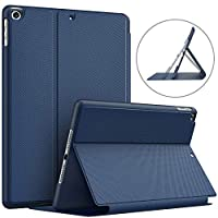 "TiMOVO Case Compatible with iPad 7th Generation 10.2"" 2019, Multi-Angle Viewing Stand Leather Shockproof Protective Cover with Auto Wake/Sleep, Smart Folio Case Fit iPad 10.2-inch Retina display"