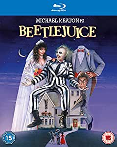 Beetlejuice [Blu-ray + UV Copy] [1988] [Region Free]