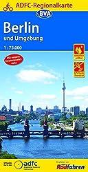 ADFC-Regionalkarte Berlin und Umgebung mit neuem Knotenpunktnetz 1:75.000, reiß- und wetterfest, GPS-Tracks Download (ADFC-Regionalkarte 1:75000)