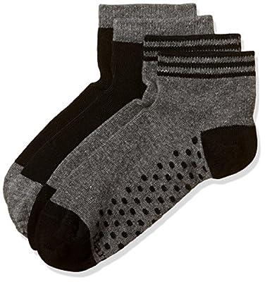 Hanes Women's Socks (Pack of 2) (V304-615-P2_Assorted_Free Size)