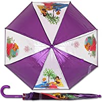 Disney Princess Purple Clear Bubble Dome Umbrella () Costume Accessory