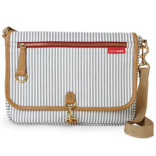 Skip Hop SKI-CLUTCH-FRENCHSTR Cross Body Diaper French Stripe