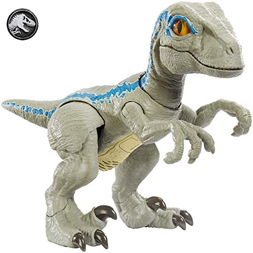 Jurassic World Amigo primigenio Blue, dinosaurio de juguete (Mattel GFD40)