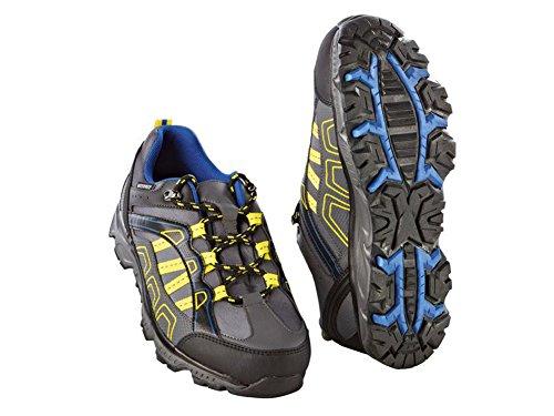 Crivit Herren Trekkingschuhe Wanderschuhe Trekking Schuhe Atmungsaktiv Wasserdicht (43)