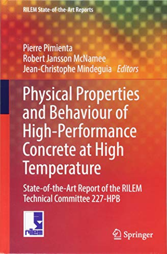 89ae30c903b81 Physical Properties and Behaviour of High-Performance Concrete at High  Temperature  State-of