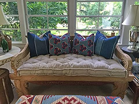 Home of Wool / Tufted Wool-Filled Daybed Cushion / 4