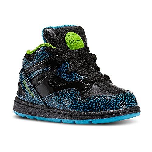 Reebok Unisex Baby Versa Pump Omni Lite Sneaker, Schwarz, 21 EU -