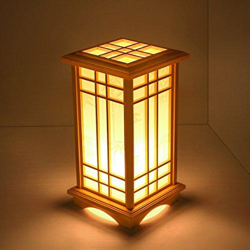 TangMengYun Japanischen Stil Kreative Kiefer Tischlampe, warme Schlafzimmer Nachttischlampe Stehlampe, Wohnzimmer Arbeitszimmer Schreibtisch lampe Tischlampe - Industrie-schreibtisch-lampe