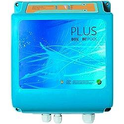 BSPool Concep Plus - Clorador salino para piscinas, 75.000 l, color azul