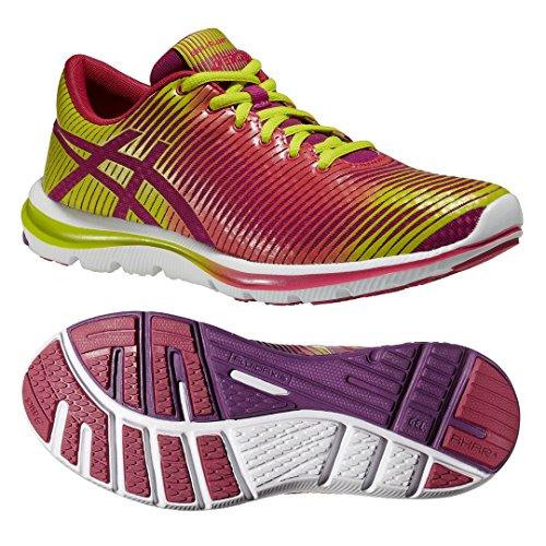 Asics  GEL SUPER J33, Damen Laufschuhe, Mehrfarbig Pink
