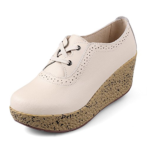 Chaussures printemps/Cales chaussures/Talon haut/Les souliers/Chaussures plateforme fond épais/Chaussure tête plate ronde D