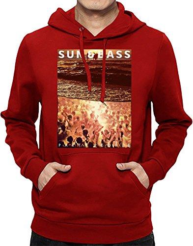 Sun & Bass - Drum N Bass Männer Hoodie Large