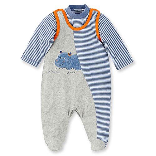 Sterntaler 2601620-050 Ensemble Pyjama en Jersey Coton Motif Norbert l'Hippo 50 cm/0-2 Mois