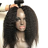 Best Grade Of Human Hair Weave - FeiBin Hair Kinky Straight Brazilian Virgin Hair 3 Review