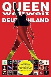 QUEEN weltweit: Deutschland: Diskografie veröffentlicht von EMI, Parlophone, Virgin... (1973-2017). Vollfarb-Guide - Full-color Guide.