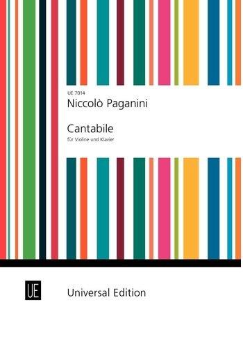 Cantabile: für Violine und Klavier.