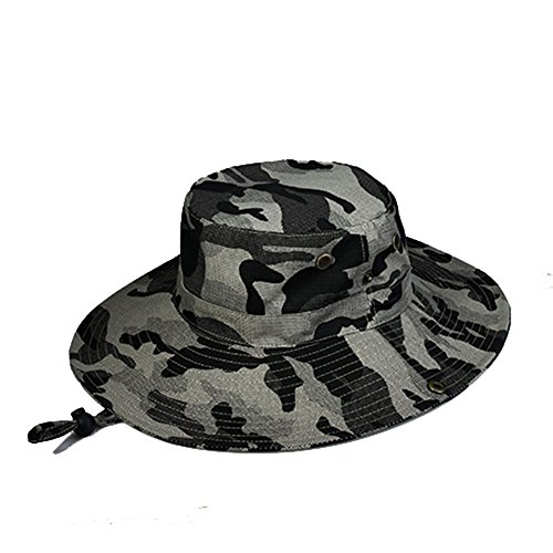 WYYY Chapeaux Hommes Visière Coton Pliable Respirant Protection Contre Le Soleil À L'extérieur 56-61cm ( Couleur : Beige )