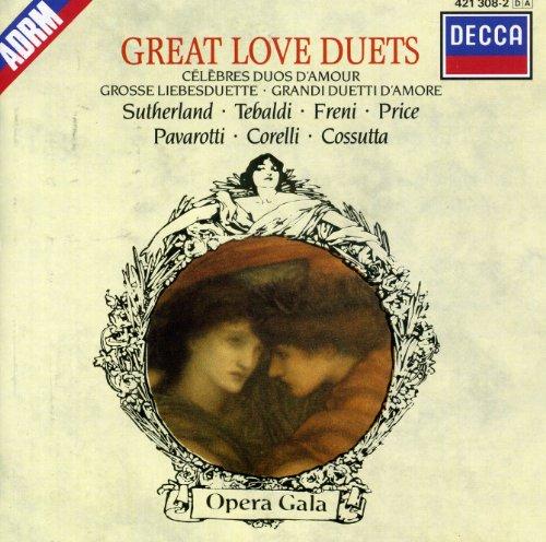 Pavarotti-Sutherland-Célébrés Duos d'Amour