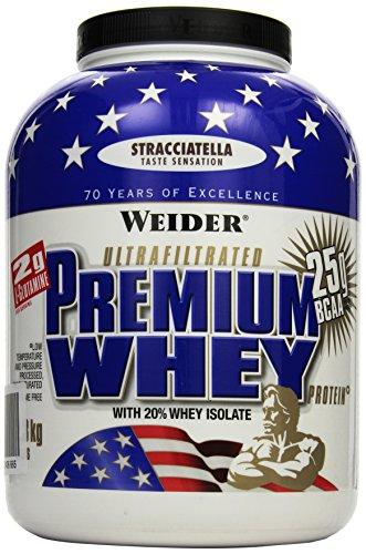 Weider Premium Whey Protein, Stracciatella (1 x 2.3 kg)