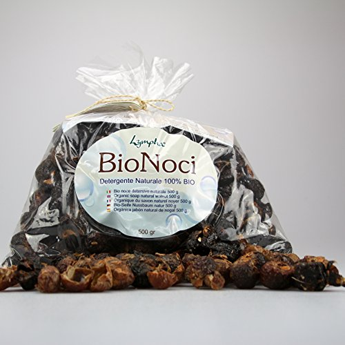 Bio Nuts or Soap Nuts - Natural Vegetable Detergent - 500 Gr