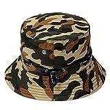 Inovey Seau Camo Boonie Hat Extérieure Cap Sun Camping Randonnée Unisexe Homme Femme-#01