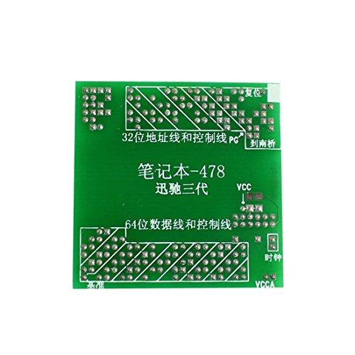water-holz-fake-testing-board-sockel-tester-centrino-drei-generationen-fur-laptop-478-cpu