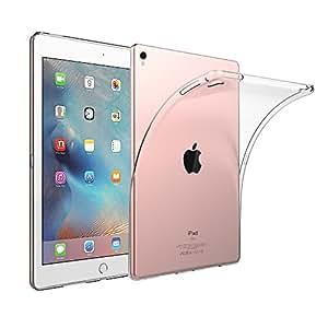 EasyAcc iPad Pro 9.7 Zoll Hülle Case Transparent Tablet Hülle für iPad Pro 9.7 Zoll Cover Schutzhülle Durchsichtig TPU Crystal Clear Case Backcover Bumper Slimcase