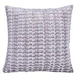 Shaggy Weichen Flauschigen Baumwolle Leinen Kissenbezug 14 Farbe Schlafsofa Home Dekoration Patten...