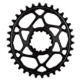 Absolute Black GXP Oval Direct N/W Chainring Direct Gxp 34t Bk by ABSOLUTE BLACK
