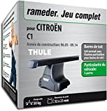 Rameder Pack Barres de Toit SquareBar pour CITROËN C1 (116057-05413-2-FR)