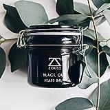 ZOUSZ Bartbalsam Beard Balm | Black Oud Duftender Premium Bartbalsam | Bedingungen Und Feuchtigkeit Bart | Fördert Bartwachstum | Luxus, Premium & Qualität | Mens Geschenk (100mL)