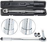 AGT Professional Drehmomentenschlüssel: Profi-Drehmomentschlüssel mit Stecknuss-Set, 28-210 Nm, Verlängerung (Werkzeuge)