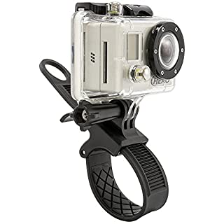 Arkon GP234 GoPro Bike or Motorcycle Handlebar Strap Mount for GoPro HERO Action Cameras Retail Black
