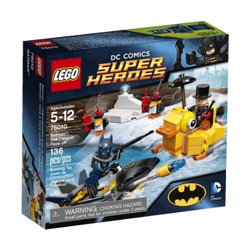 LEGO 76010 - DC Universe Super Heroes Batman: Begegnung mit dem Pinguin (Superheroes Lego Batman Dc)