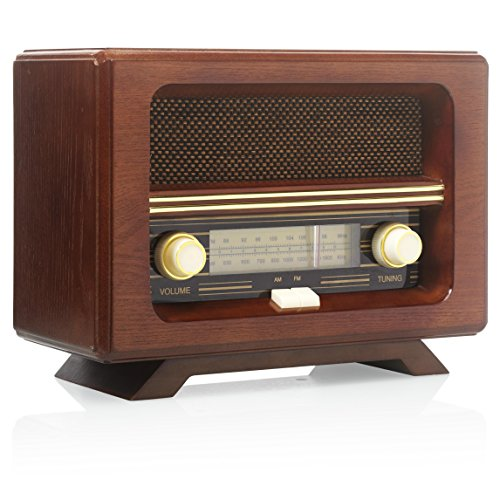 Ricatech 654020 PR190 50 Classic Radio (Tragbare Retro-plattenspieler)