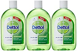 Dettol Multiuse Hygiene Liquid - 500 ml (Pack of 3)