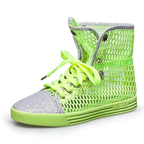 Do.BOMRVII , chaussures compensées femme Vert