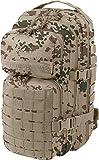 normani US Assault Pack Small, Rucksack, 25 Liter Farbe Tropentarn