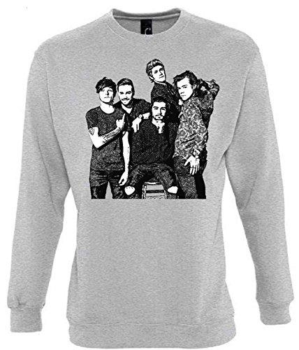 Unbekannt One Direction Funny Mens & Ladies/Herren & Damen Unisex Sweatshirts (M)