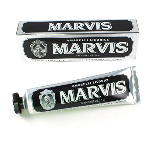 Marvis Zahncreme Amarelli Licorice 75ml, 3er Pack (3x 75ml)