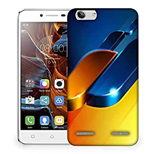 Snoogg Abtract Blocks Design Designer Protective Phone Back Case Cover For Lenovo K5 Vibe