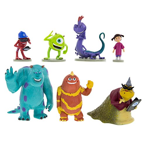 Image of Disney Parks Monsters Inc. Collectible Figurine Playset Play Set Cake Topper by Disney
