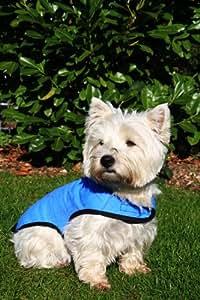Prestige Pet Products - Manteau rafraîchissant pour chien - Bleu -Taille S