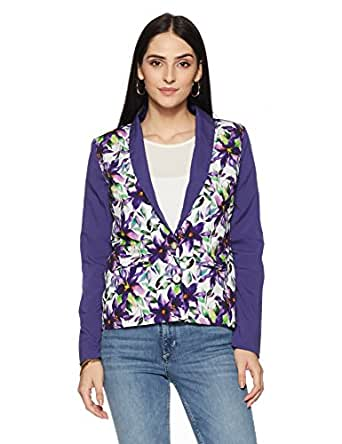 VERO MODA Women's Blazer (1576757001_Navy Blue_34)
